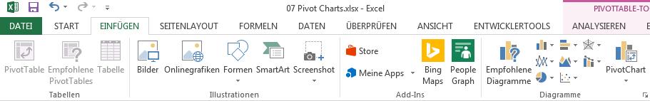 Pivot Charts 2