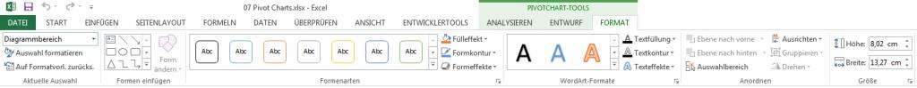 PivotChart Tools3