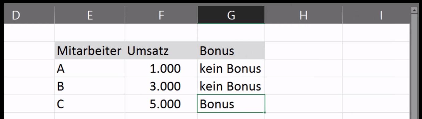 Die Excel Wenn Dann Funktion Formel Ganz Einfach Erklärt Excelhero